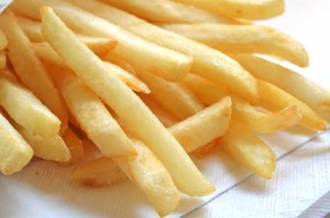 French Fries - 8 oz (227 grams) = 600 to 800 calories