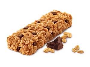 Granola Bar - 120 calories for a small 26  gram bar