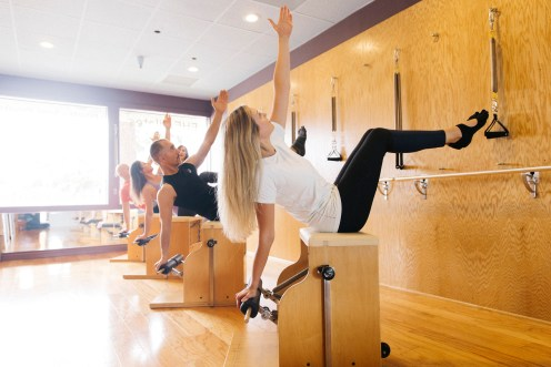 Pilates Combo Chair exercise
