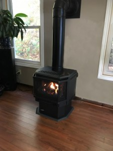 Installed Stove