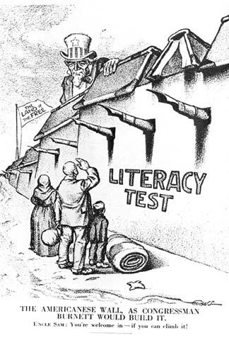 Literacy Test Cartoon
