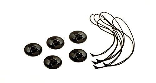 Mantona 3M Klebebepad 6 Stück geeignet für GoPro Hero 6 5
