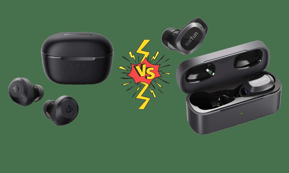 Soundpeats T2 vs Earfun Free Pro