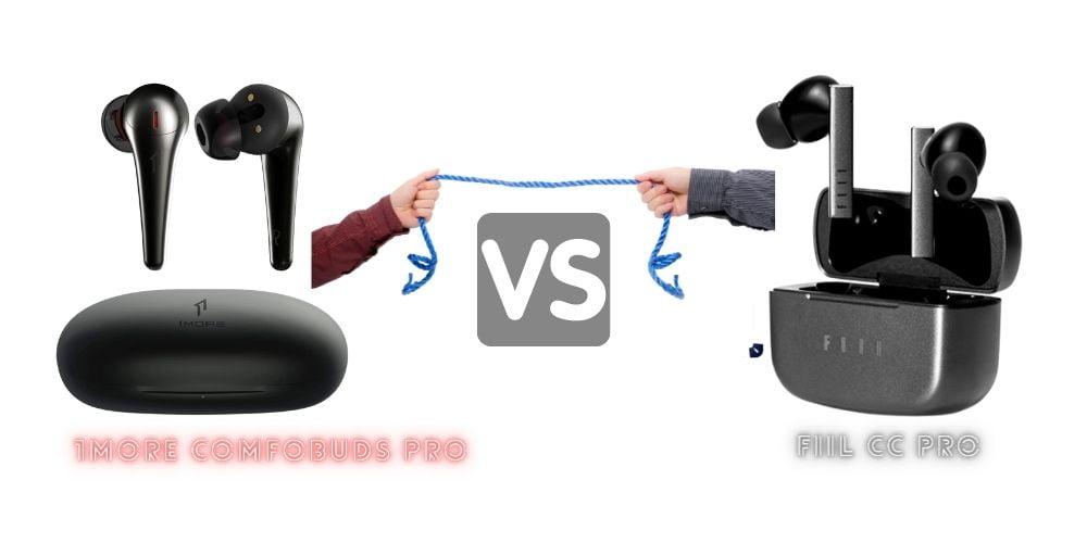 1More ComfoBuds Pro vs FIIL CC Pro