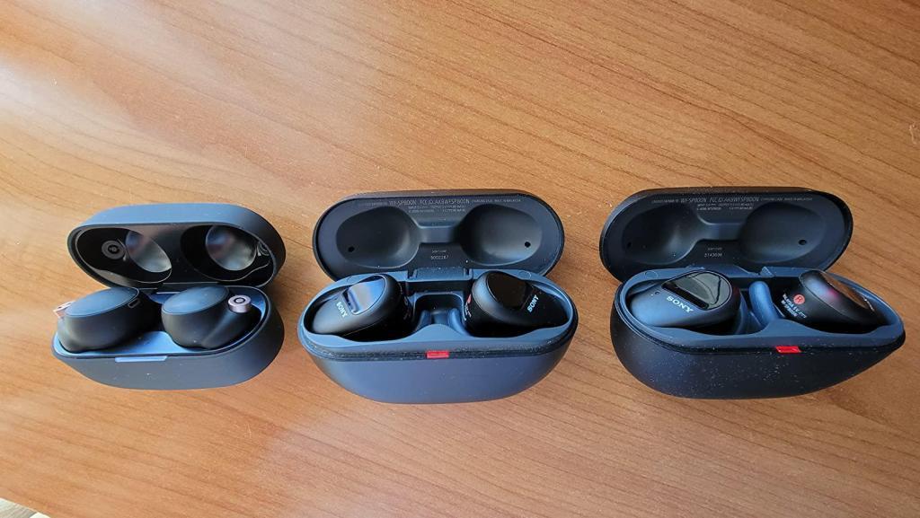 Sony WF-1000XM4 review comparison xm3