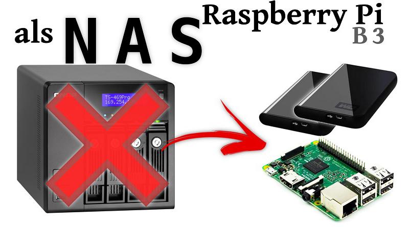 Raspberry Pi als energiezuinige NAS