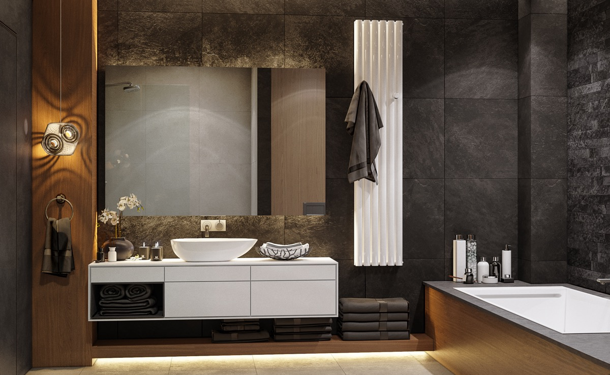 Modern Bathroom Cabinets And Vanities Maximizing Space In Bathrooms Ehome Improvement Guide