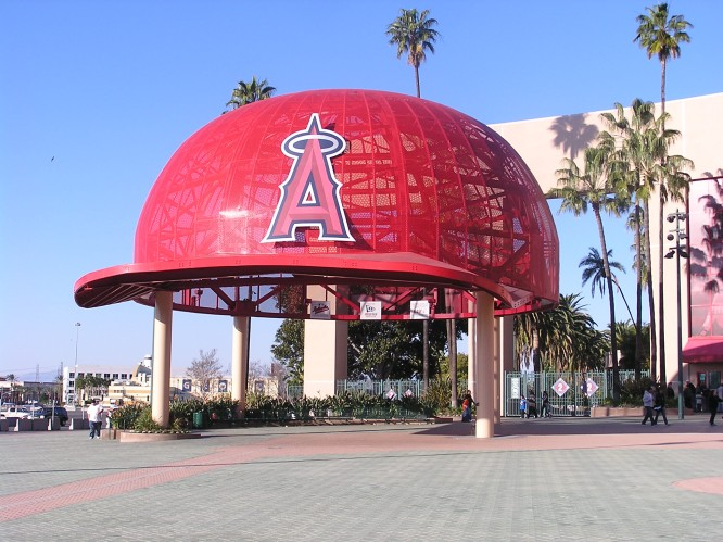 Angels Hat at Big A Anaheim