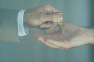 Giving-house-keys