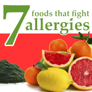 7 Foods that fight allergies