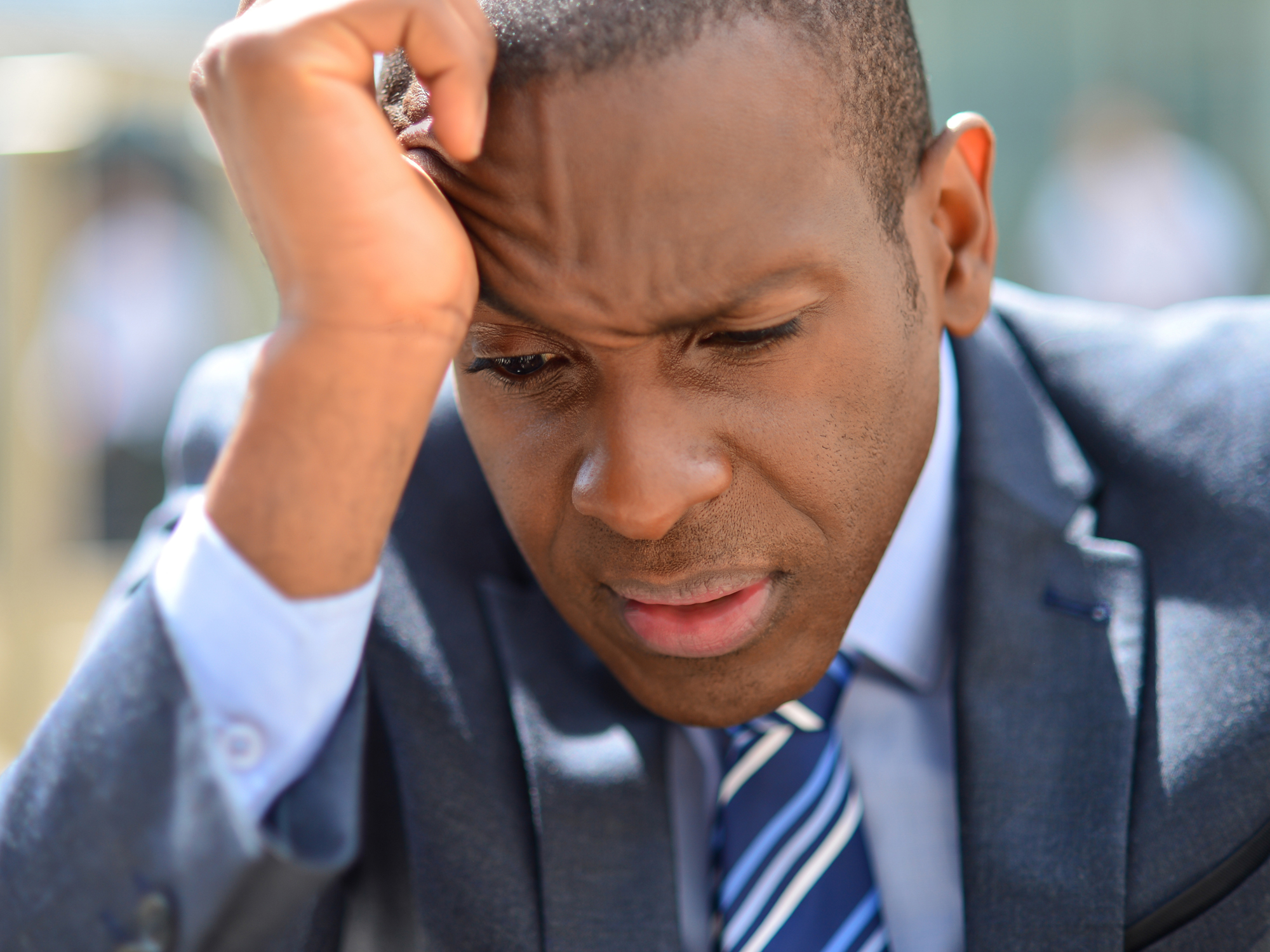 Why is anxiety giving men cancer  Easy Health Options