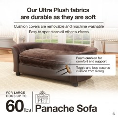 Panache Dog Sofa Comfy Sofas Mink Enchanted Home Pet