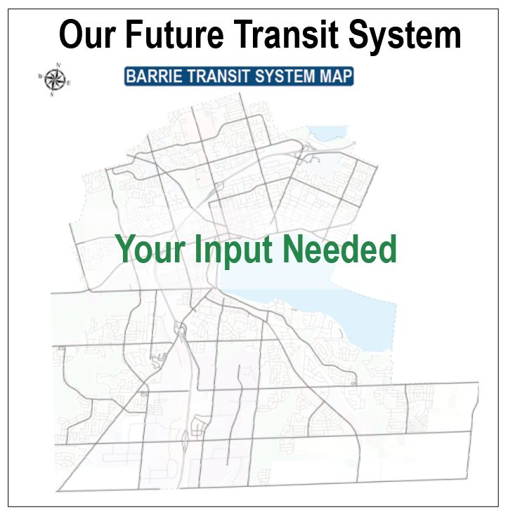 medium resolution of map of barrie with your input needed