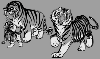 Tiger from Character design on Tumblr