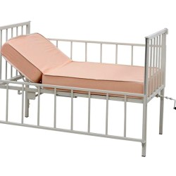 Pediatric Bed with Backrest Adjustment