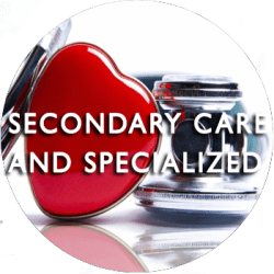 SECONDARY CARE and SPECIALIZED