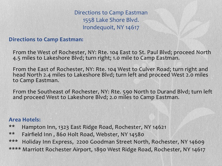 Eastridge High School 40th Year Reunion Invitation