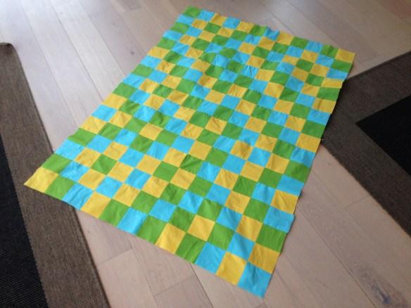 Færdig patchwork
