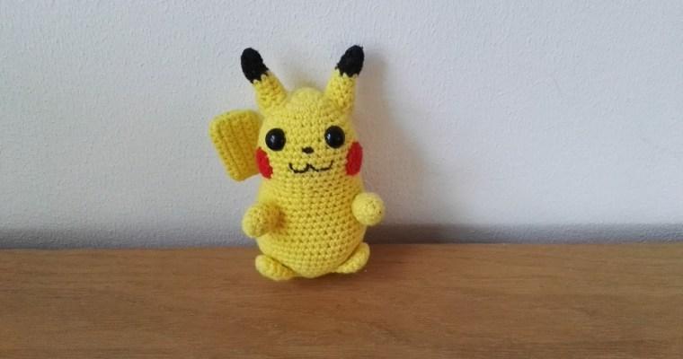 Hæklet Pikachu (Pokemon)