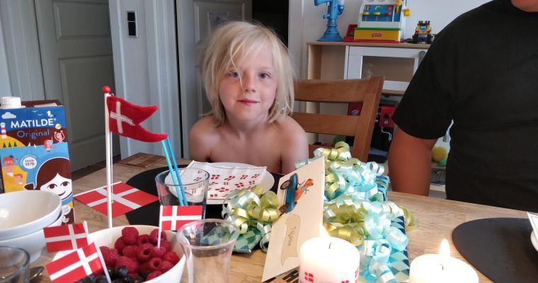 Casper 8 år
