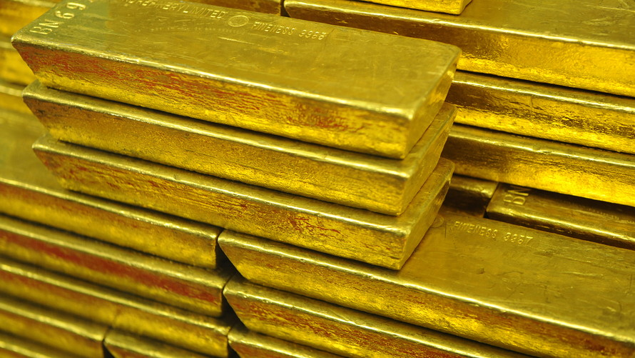 gold settles with a