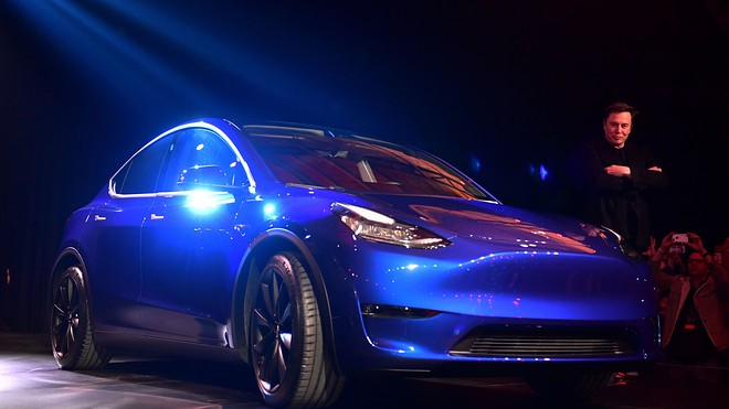 Tesla S Introduction To The Model Y Underwhelms And Stock Promptly Falls Marketwatch