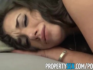 PropertySex – Naughty real estate agent seduces buyer with her sexy ways