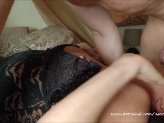 Amateur Hardcore Close Up Sloppy Drooling Gagging Deepthroat with Kate Truu