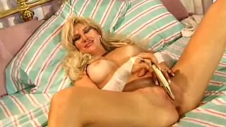 Beautiful Blonde MILF Housewife