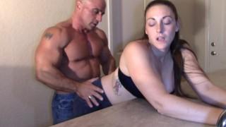 Melanie Hicks Humped by white Dick