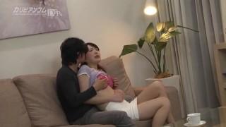 【無】夫の目の前で妻が 満島ノエル Noeru Mitsushima