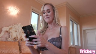Trickery - Brandi Love hooks up with her step son on a blind date