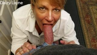 Mature Daizy Layne Sucks Cock!