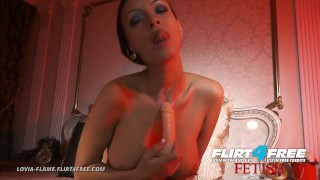 Lovia Flame on Flirt4Free Fetish - Hot Hard Bodied Euro Fucking Neck Fetish