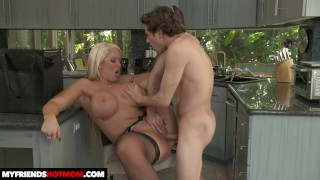 hot milf Alura TNT Jenson fucks young cock