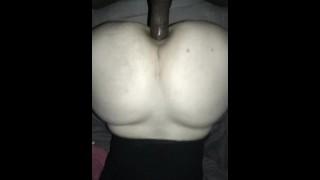 Using him as a butt plug. 200+ full vids: onlyfans .c om/smashenass