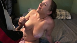 MILF Whore suck and fuck Bull#3 goes 1st bangs deep destroys the pussy H/TX