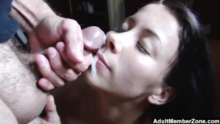 Giving The Best Blowjob She Can