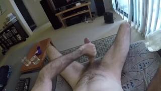 Long strokes and hard cum