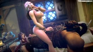 Jaina Proudmoore Compilation (animation)