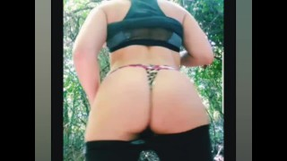 CoyWilder - live stream Squirting on a busy hiking trail