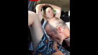 Sucking young str8 blond skater boy in car