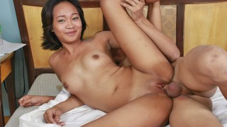 TRIKEPATROL Sexy Next Door Asian Fucks Her Boyfriends Big Dick