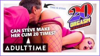 ADULT TIME Bubblegum Dungeon: Gia Derza 20 Orgasm Challenge