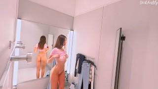 She didn't expect to be filmed- DeluxeGirl