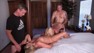 Gangbang Orgy with the Bisexual Stripper