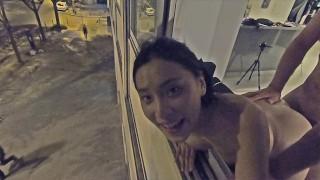 Paris Public Fuck! June Liu Spicygum 刘玥 x Jay Bank Presents #19-22 pt 1