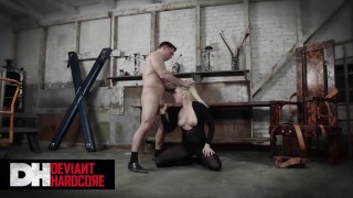 Deviant Hardcore - Big Tit Dahlia Sky Gets Dominated And Face Fucked