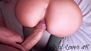 VIRGIN, MY TINDER DATE OPENS MY TINY ASS AND CUM TOO FAST INSIDE - Anal lov