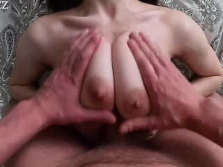 I like to fuck big natural tits – titfuck POV